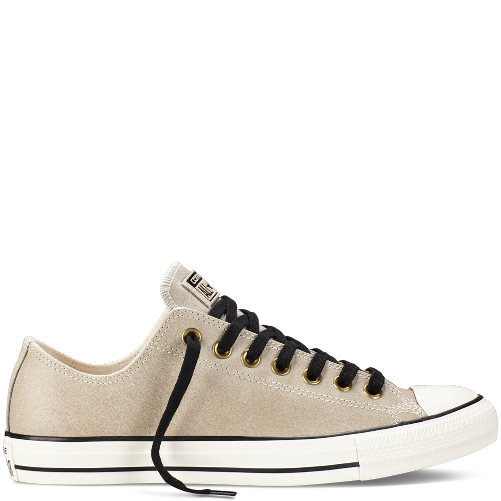 7f89ae213328d2 Converse - Chuck Taylor All Star Vintage Leather -Parchment - Low ...