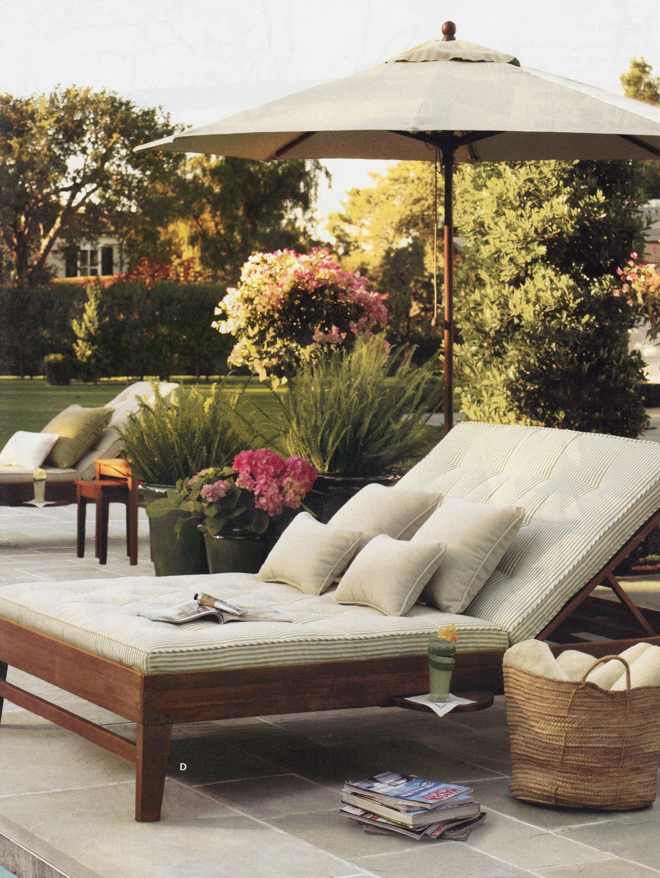 Oversized Patio Chair For A Lovely