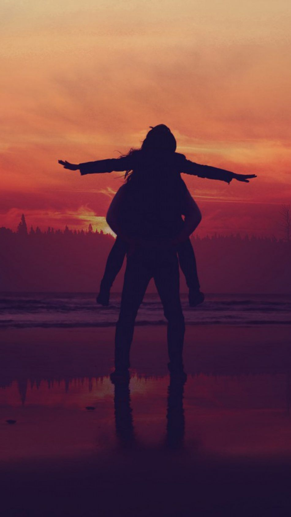 Couple Sunset Happy Moments Fondos De Pantalla Amor Siluetas Fondos De Pantalla Atardecer