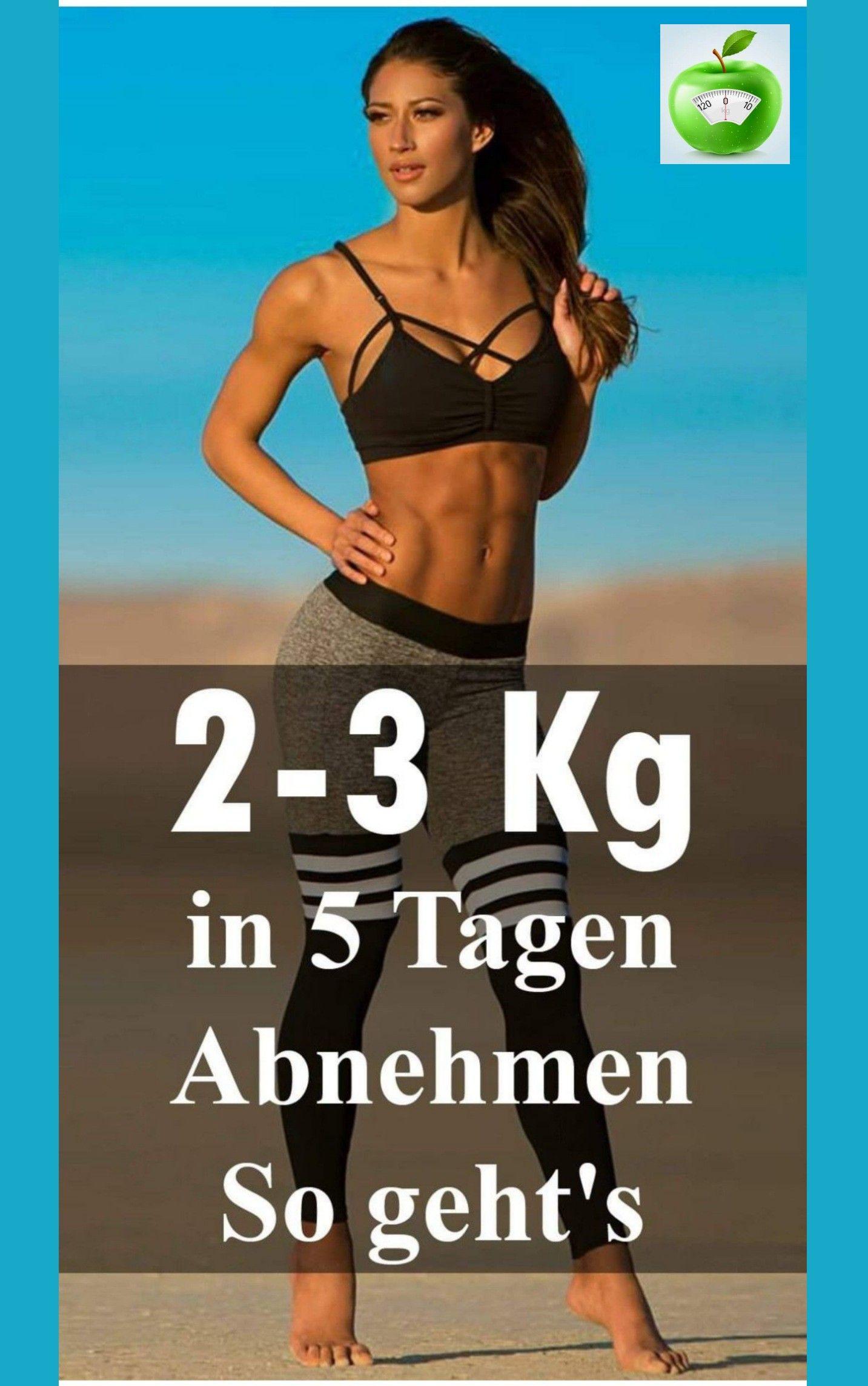 2-3 kg schnell abnehmen