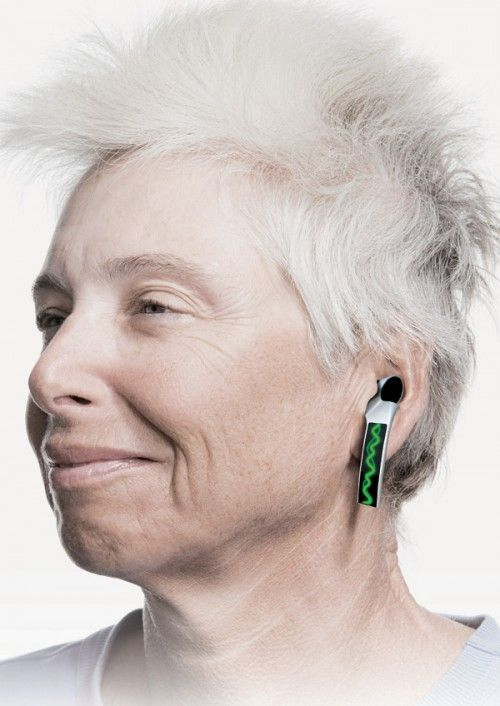 The Green Display Is A Visual Representation Of Sound That Hearing Aid Processing