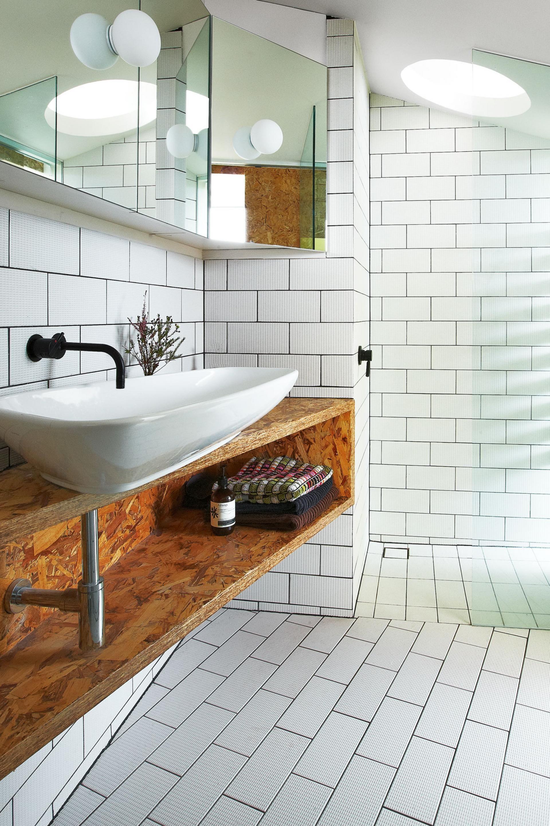 edwards-bathroom-OSB  Carrelage salle de bain, Travaux salle de