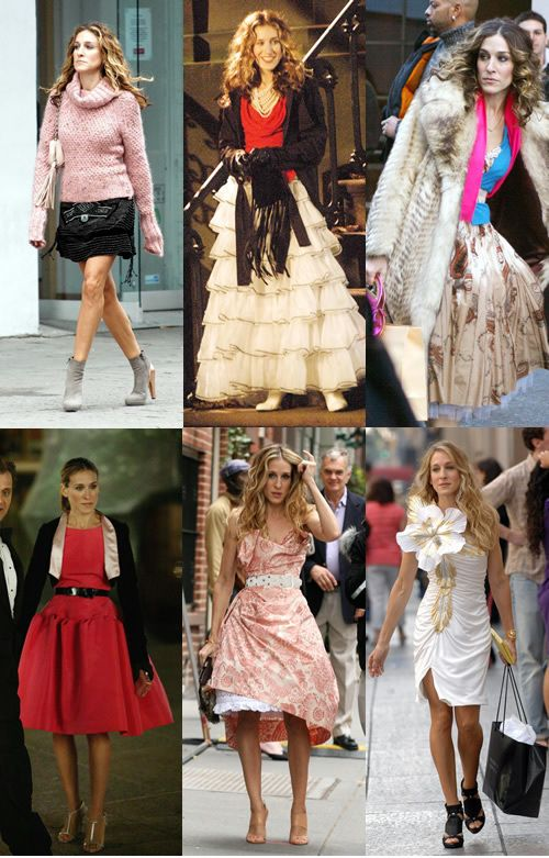 Sex and the city clothes carrie bradshaw