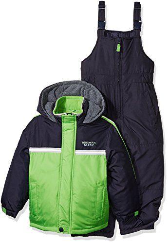 c6408777369b London Fog Boys 2 Piece Heavyweight Color Block Snowsuit     Check ...