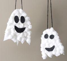 Inspi {DiY} Fantômes d'Halloween #deguisementfantomeenfant diy-bricolage-fantome-Halloween #deguisementfantomeenfant