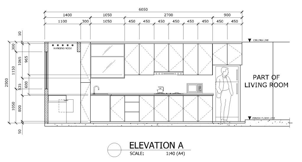 dimensions of kitchen cabinets photo kitchenelevation jpg always important 14727
