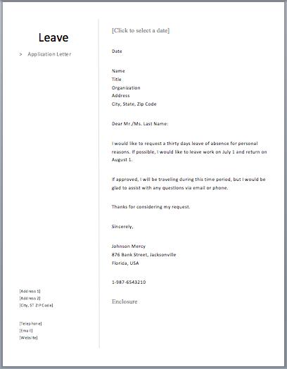 Leave application letter free sample letters school format home leave application letter free sample letters school format thecheapjerseys Choice Image