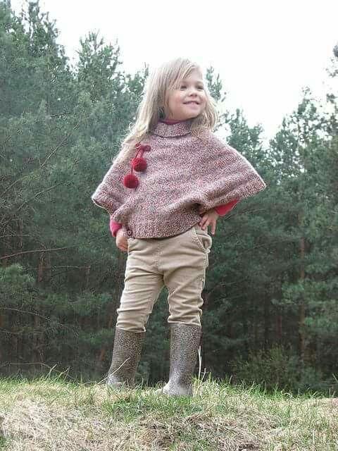 Pin de Yavida Benitez en Outfit kids | Pinterest | Capilla, Tejido y ...