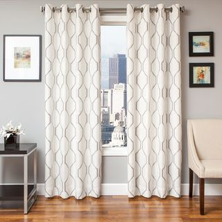 Nirvano Rod Pocket 96-inch Curtain Panel | Overstock.com Shopping - The Best Deals on Curtains