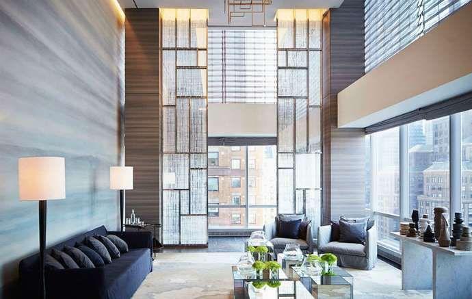 <p>O projeto é do renomado arquiteto e urbanista francês Christian de Portzamparc (também responsáve... - Park Hyatt New York