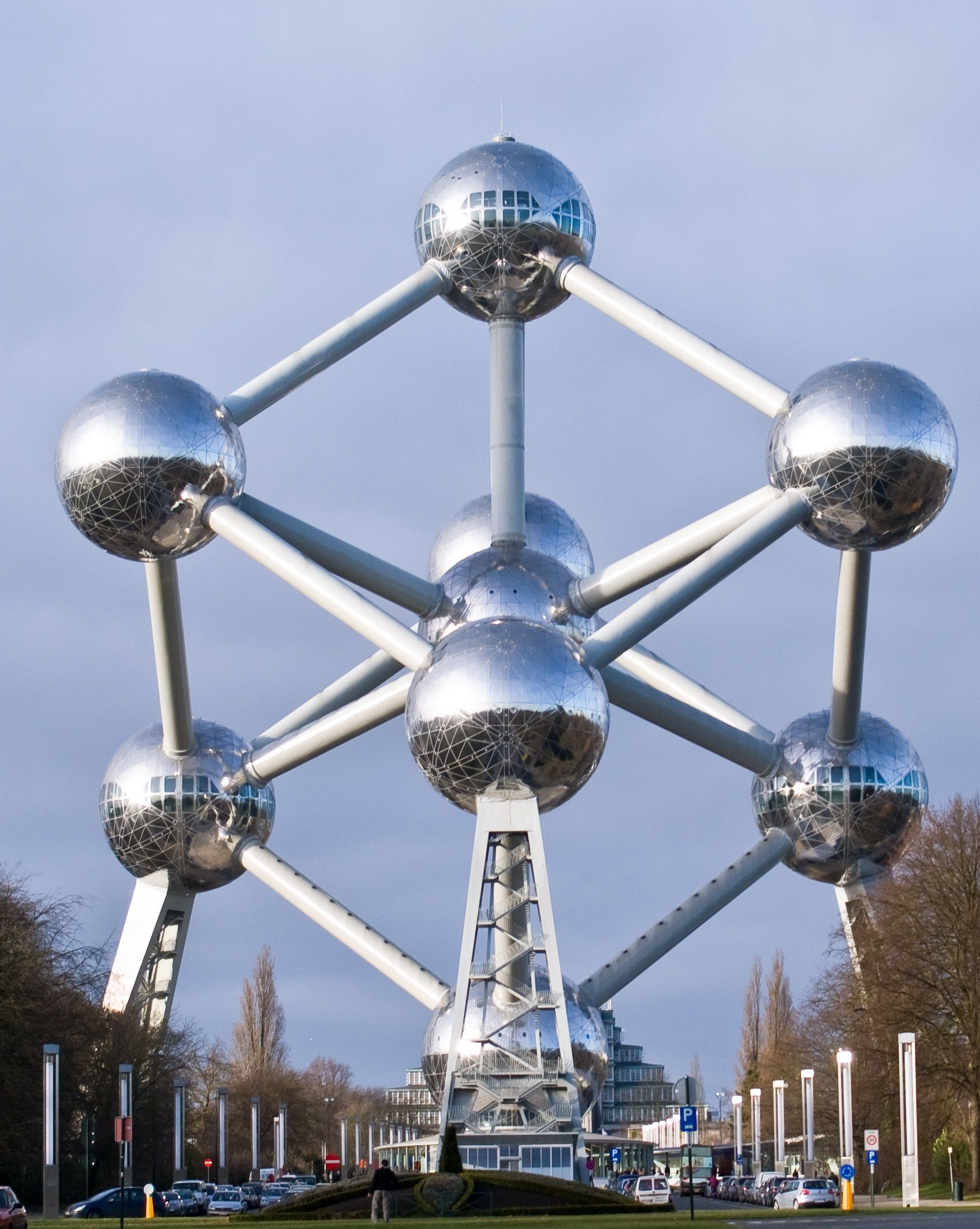 Atomium Brussels Belgium Top unusual buildings around the world..which is your favourite??