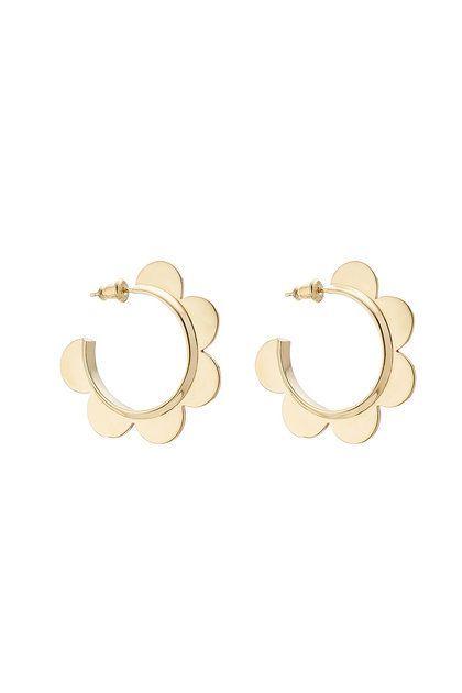 Simone Rocha Gold Plated Sterling Silver Earrings Stylebop