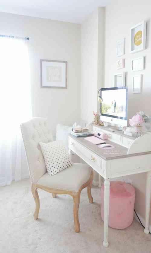 Deco Bureau A Domicile 35 Idees De Style Shabby Chic