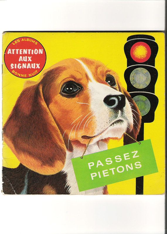Attention Aux Signaux 1969 French Children S Book Via