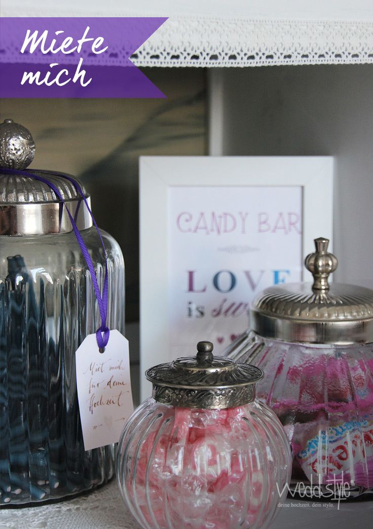 candy bar mit schild bilderrahmen mieten. Black Bedroom Furniture Sets. Home Design Ideas