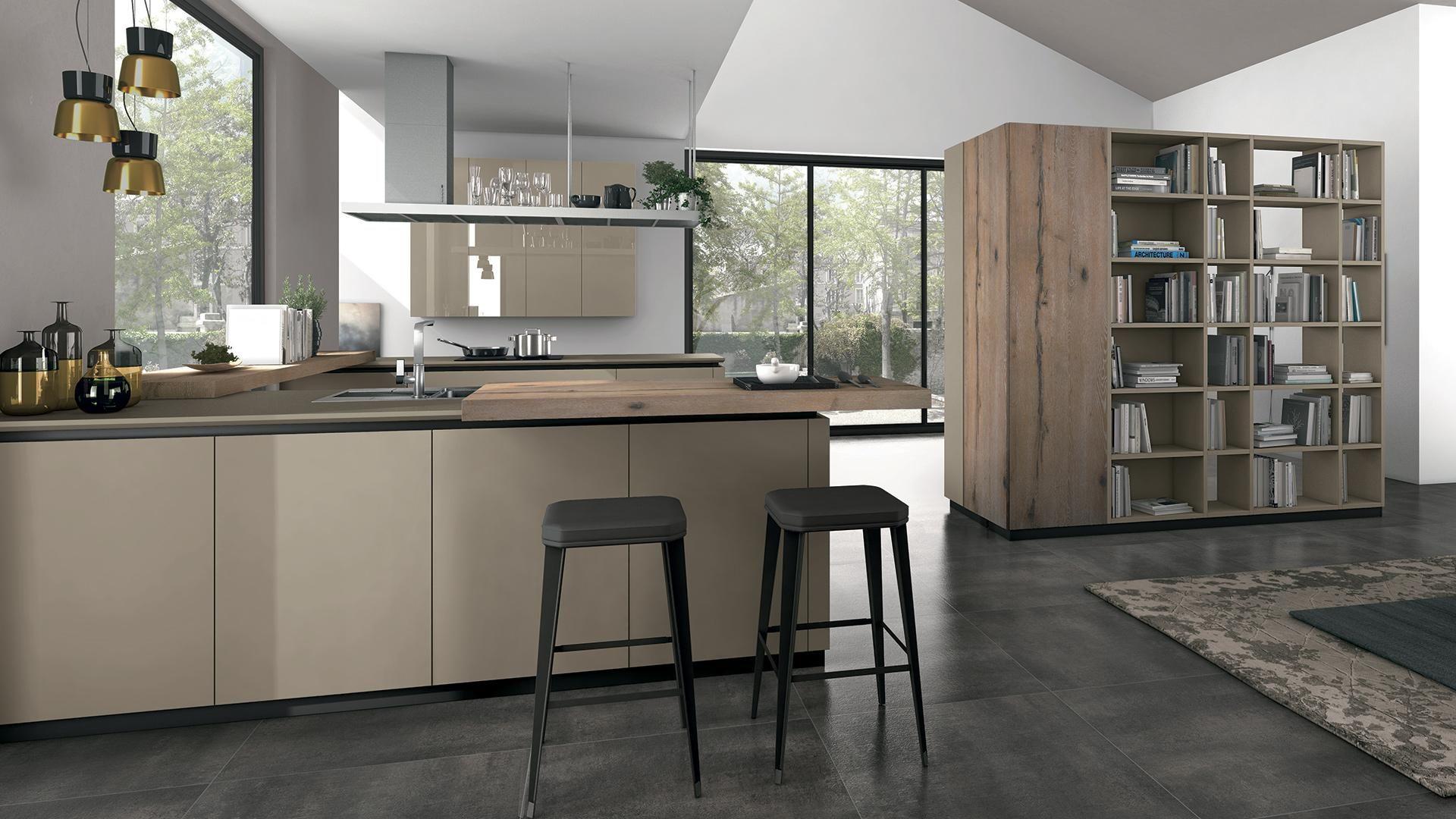 Oltre - Cucine Moderne - Cucine Lube | pavimentazione ...