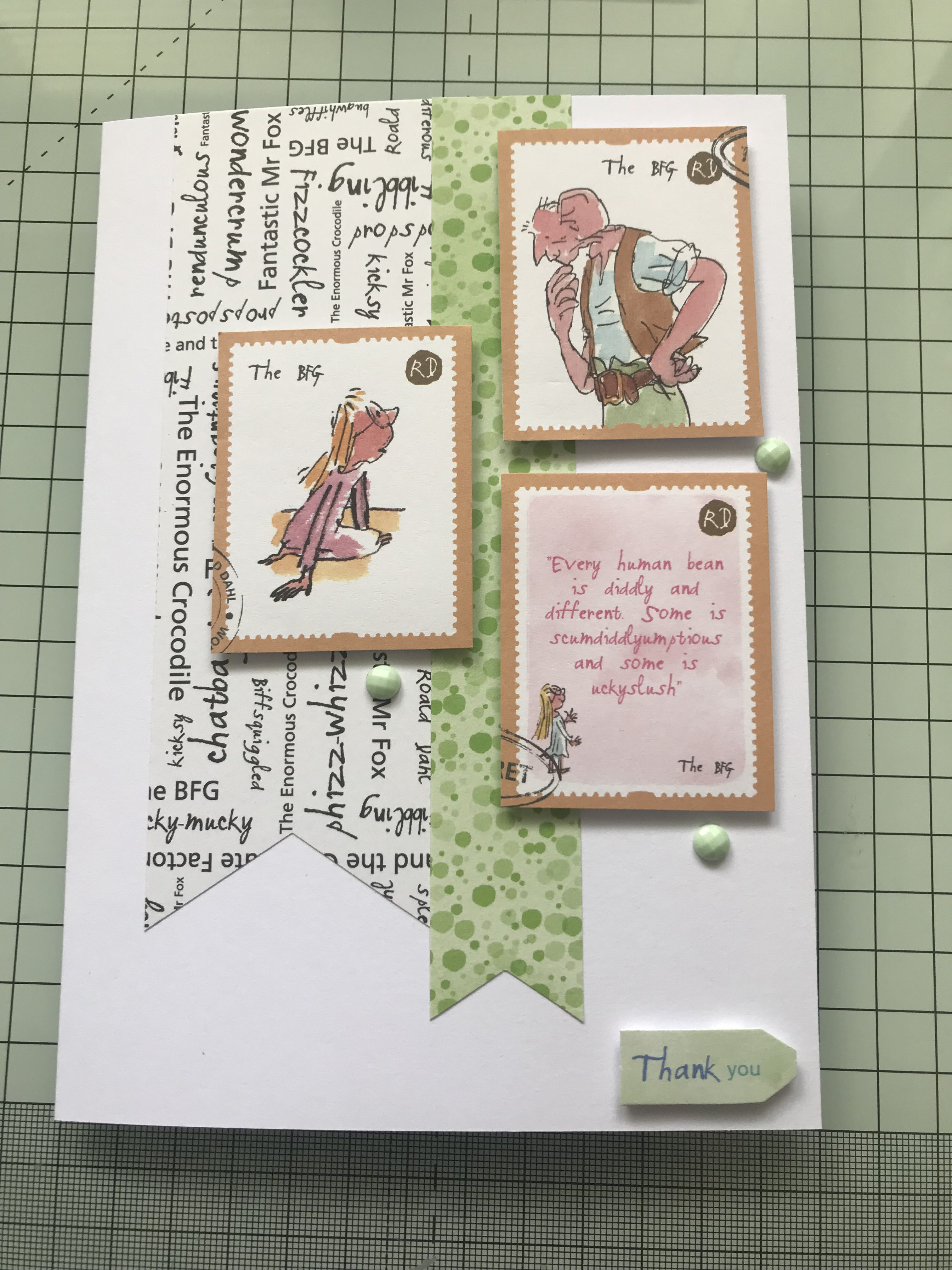 Docrafts Roald Dahl Cards
