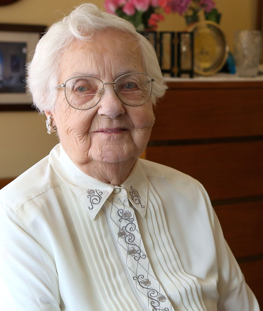 Longtime donor mildred nienaber just celebrated her 100th