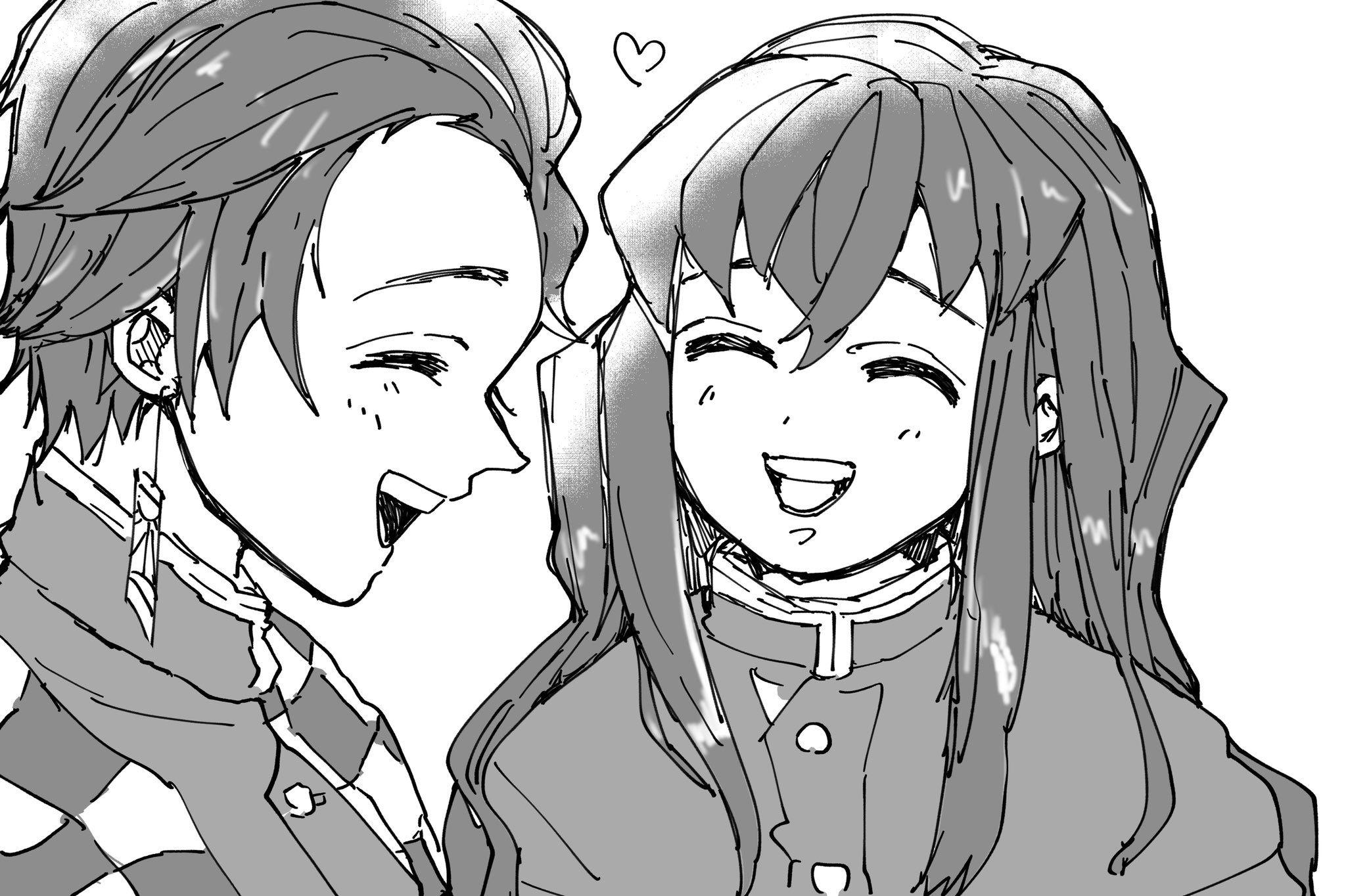 ボード「Muichiro and Tanjirou」のピン