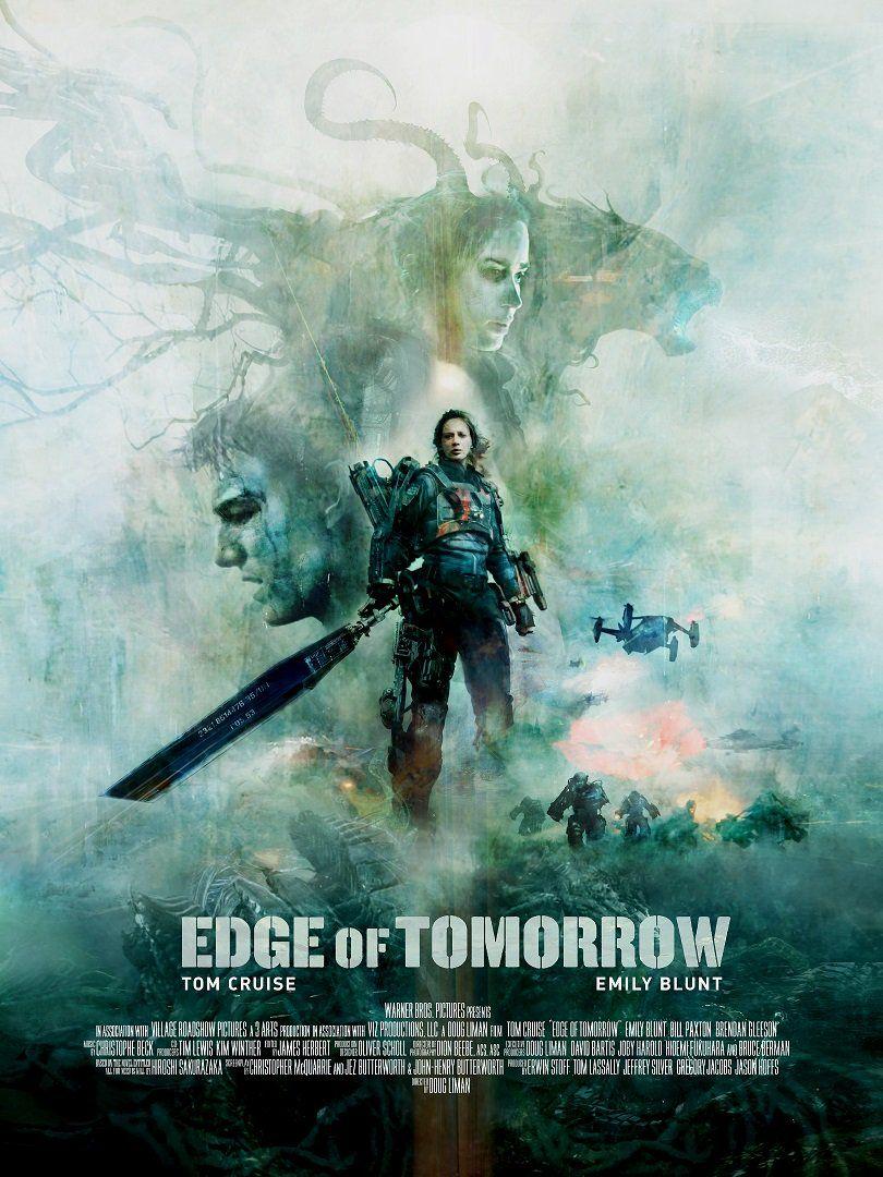 Edge of Tomorrow Movie Art Silk Poster 12x18 24x36