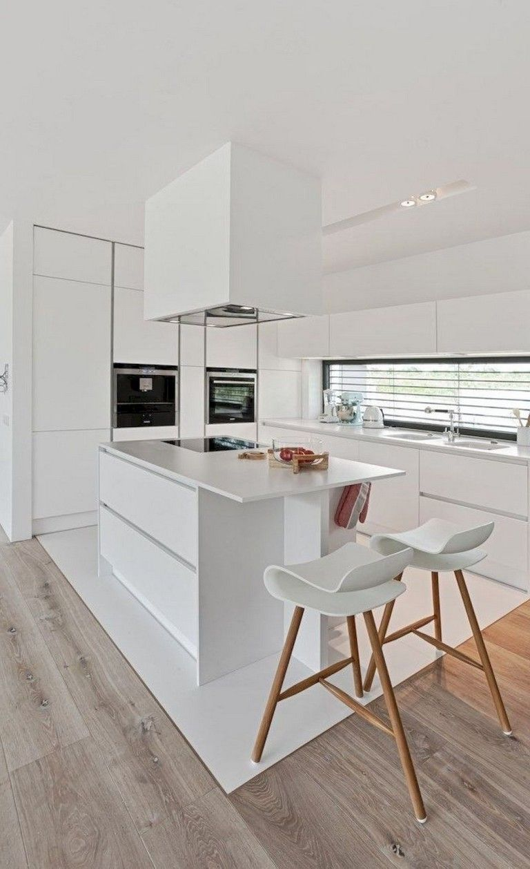108+ Amazing White Kitchen Decor and Design Ideas #minimalistkitchen