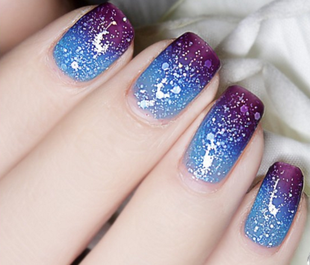 Thermal Color-Changing Nail Polish Dark Purple to Blue # 23810 ...