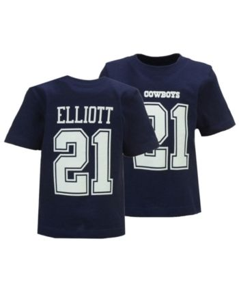 511d8a104ac Authentic Nfl Apparel Ezekiel Elliott Dallas Cowboys Eligible Player Name &  Number T-Shirt, Infants (12-24 Months) - 24 months