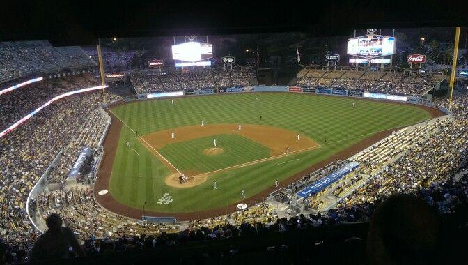 La Dodggers Baseball Field Field