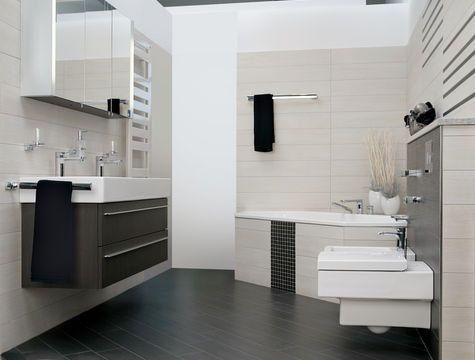 Dunkler Boden | Bad Ideen | Badezimmer, Badezimmer bilder ...