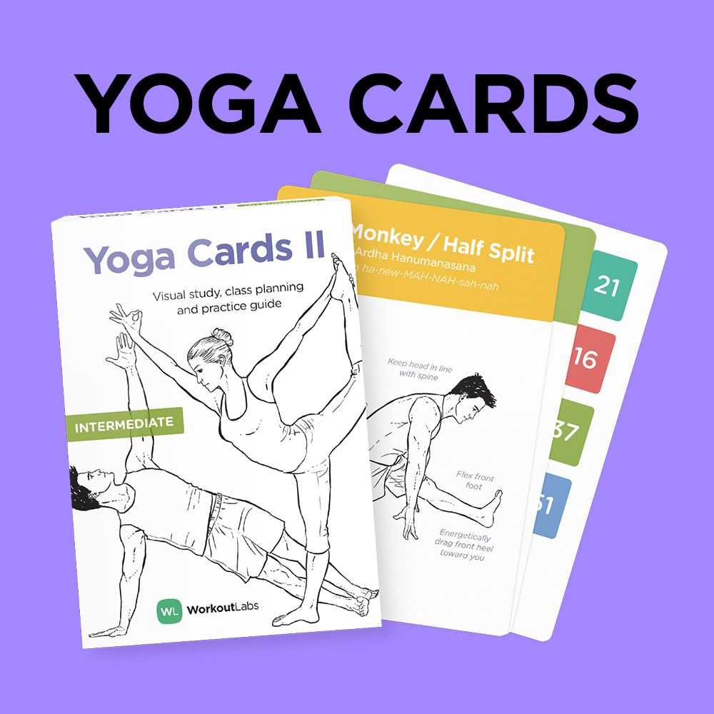 yoga cards  beginner professional study sequencing