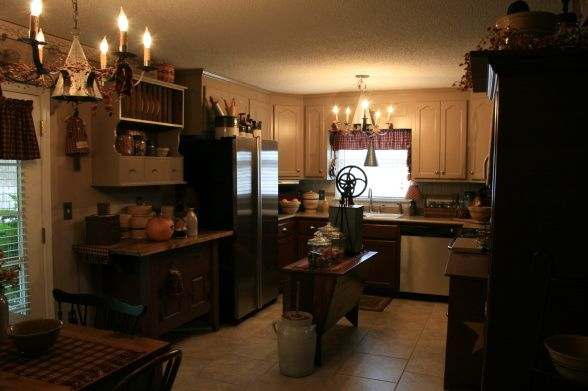 Kitchen Table Design Decorating Ideas Hgtv Pictures: My Primitive/Country Kitchen