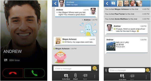 BBM App for iPhone Gets Timed Messages, HD Picture Transfer, Message Retraction, More