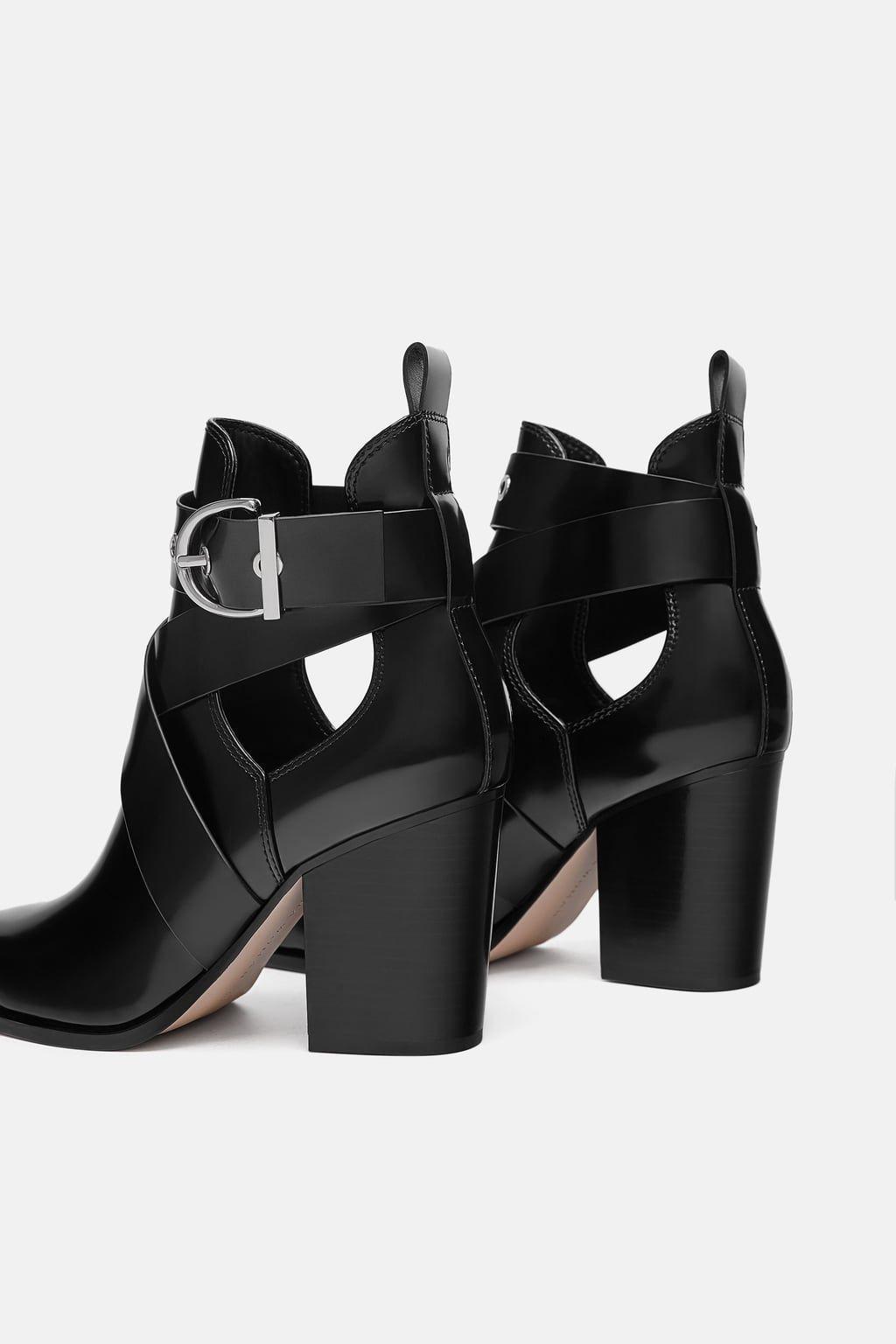 Bild 5 von STIEFELETTE MIT CUT-OUT von Zara   Shoes   Zara, High ... b567e40cc2