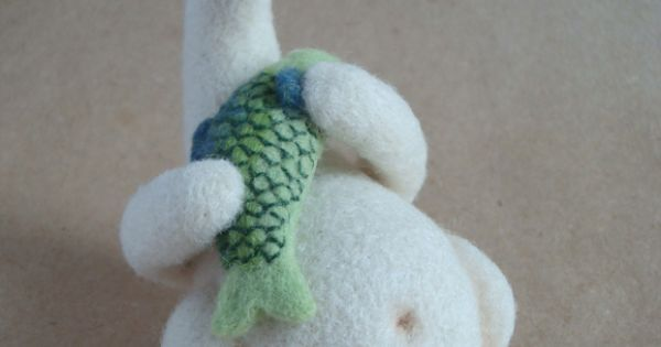 Polar Bear Needle Felted | crafts-thread&textile | Pinterest | Polar Bears, Bears and Felt Art