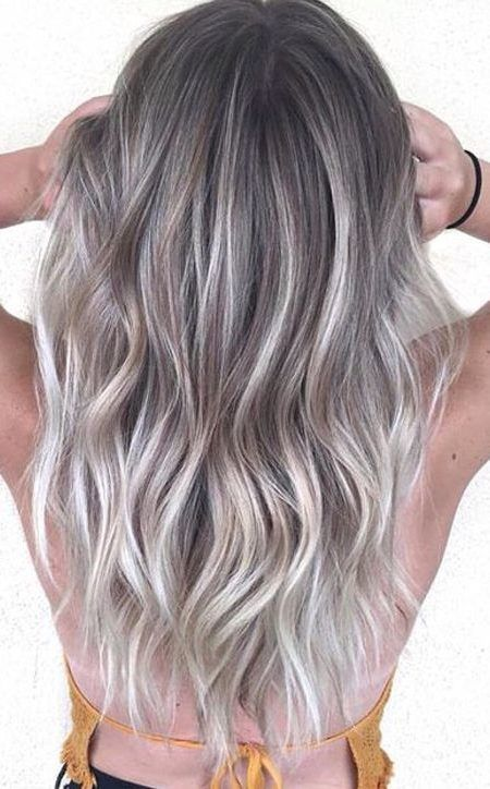 Eisiges Silber Haarfarben Fur 2017 Smart Frisuren Fur Moderne Haar