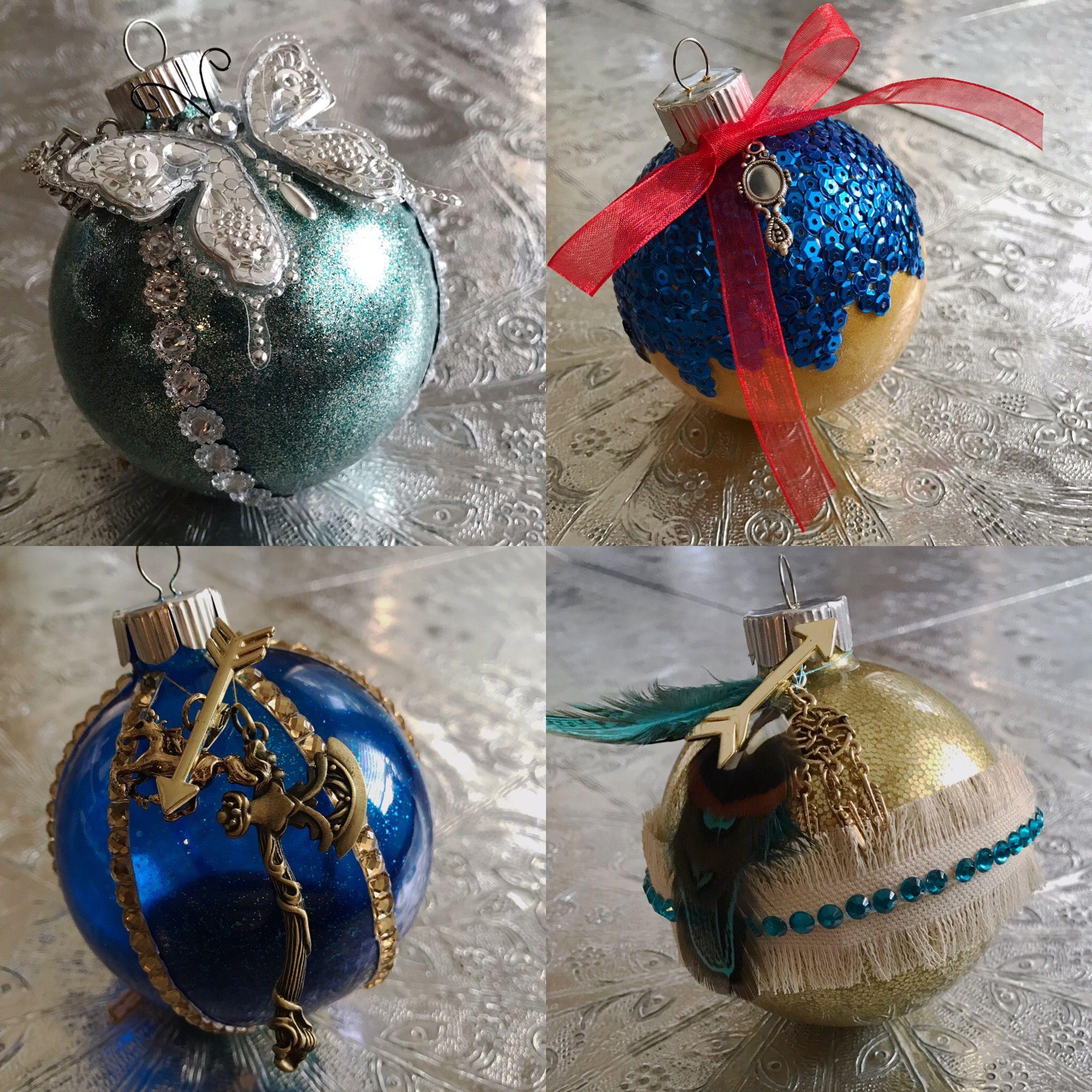 Disney Princess Themed Ornaments Cinderella Snow White Merida