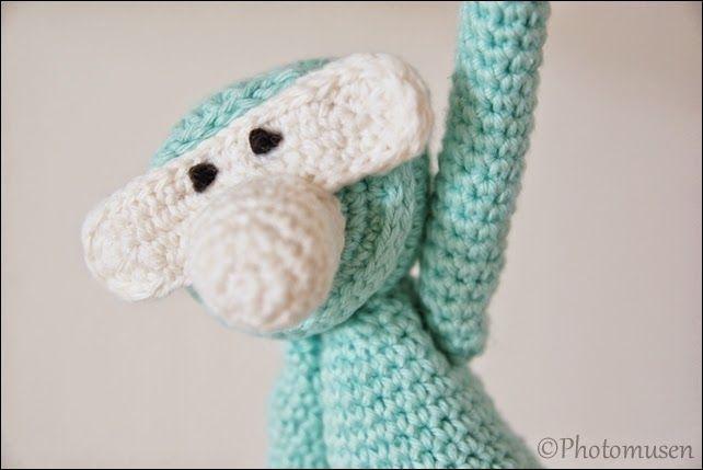 Hæklet abe/crochet monkey
