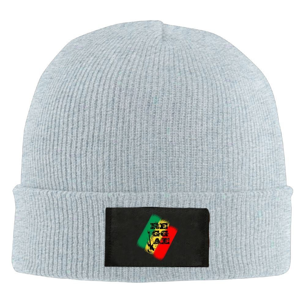 Black Knit Warm Reggae Winter Ski Skull Cuff Sweater Beanie Beanies Cap Hat Hats