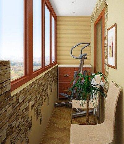 Идеи на балкон 59