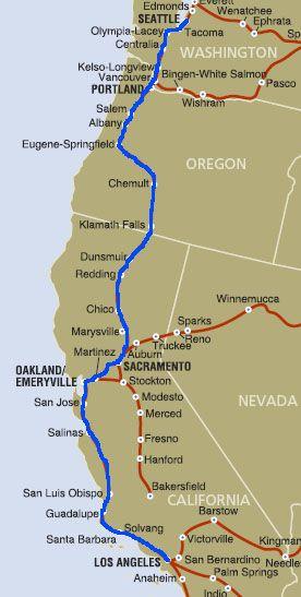 Amtrak California Coast Google Search Vacation Prospects For