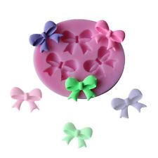 Bow Silicone Fondant Mould Cake Decorating Chocolate Baking Mold Sugarcraft Tool