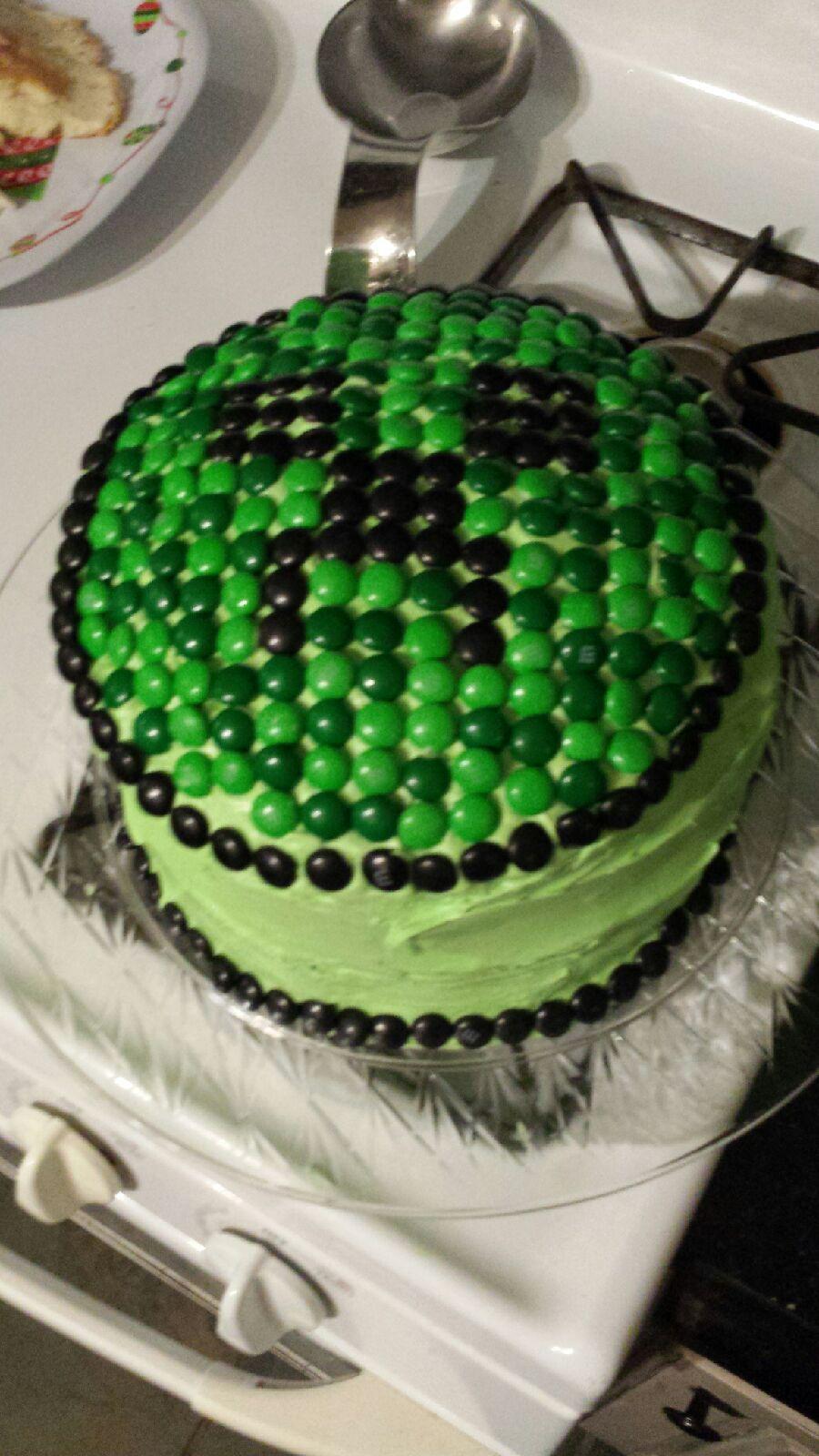 Homemade Minecraft Cake Nom Nom Pinterest Homemade Minecraft