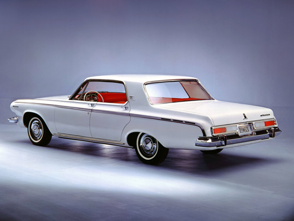 1963 Dodge Polara 4 Door Hardtop 634 1962 63 Dodge Dodge Dart Classic Cars