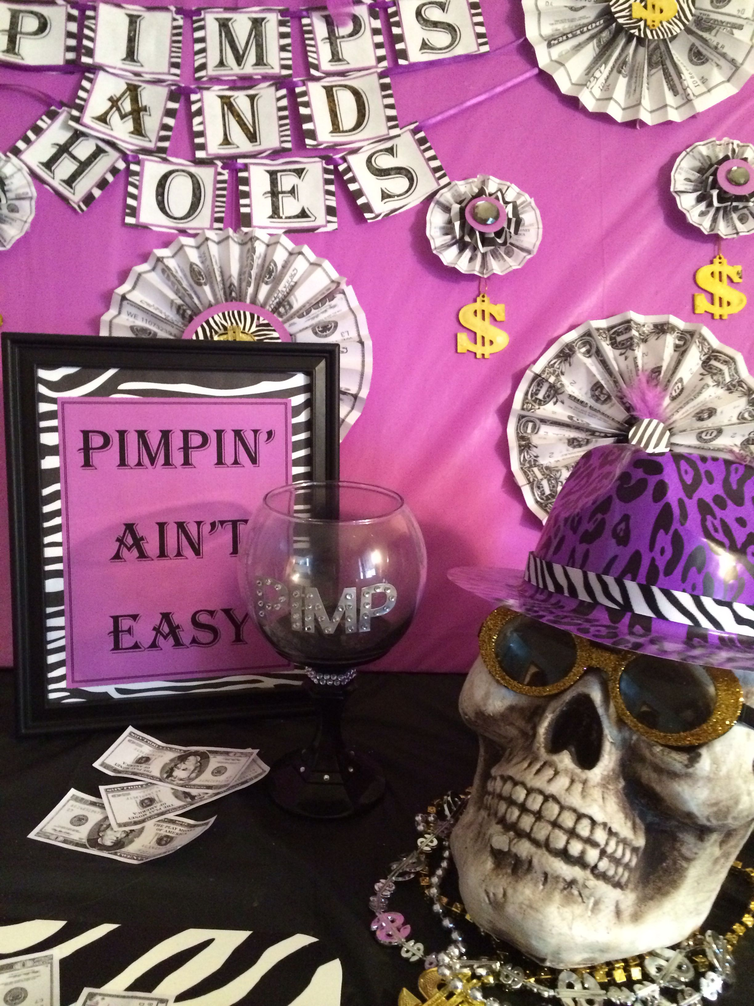 Pin On Pimps And Hoes Party Ideas