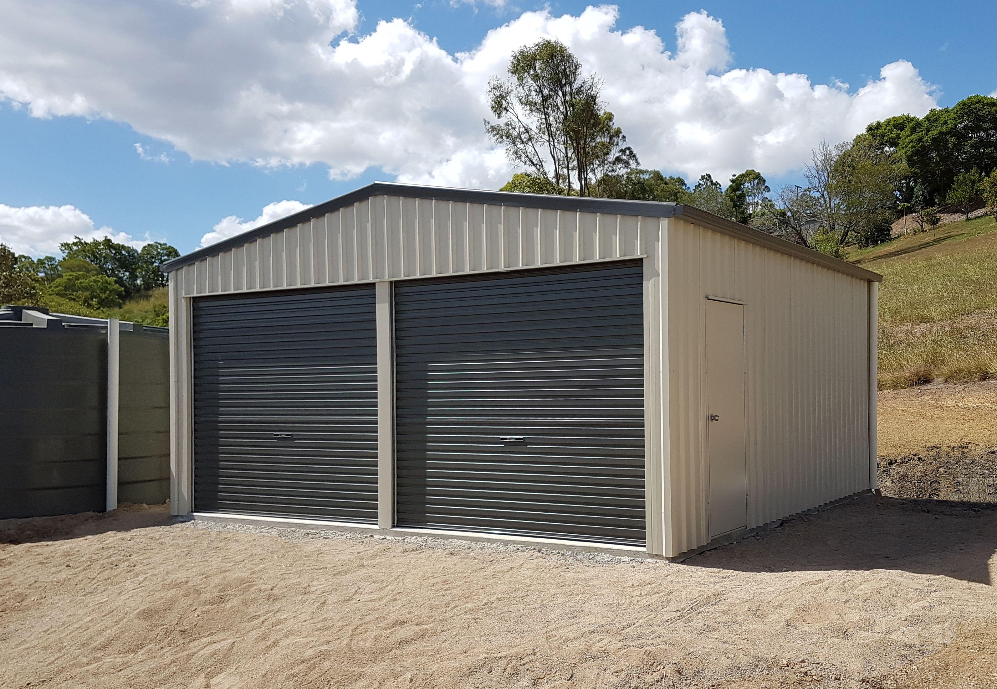 Double Garage Shed Shed, Garage, Garage shed
