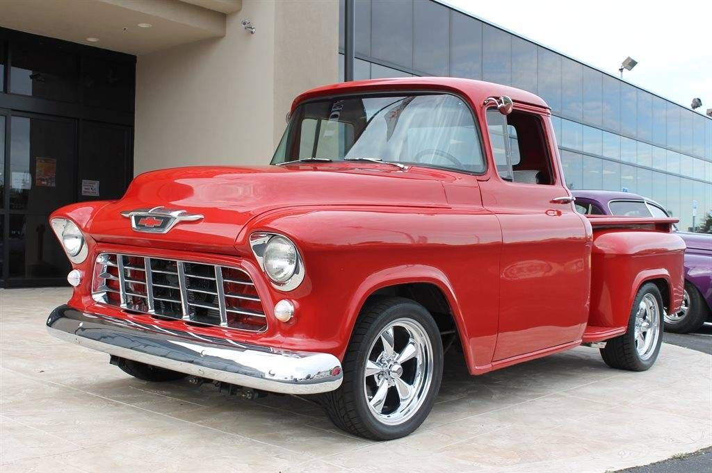 1955 Chevrolet C10 Image 1 Of 16 With Images Chevy Pickup