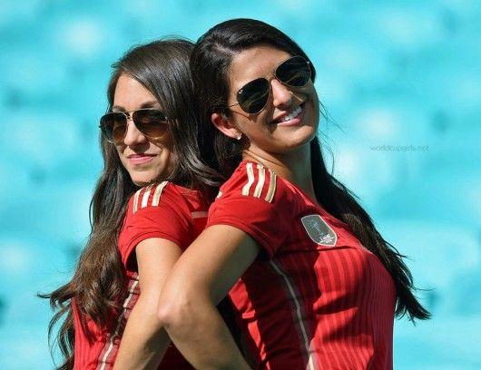 Spanish Girls @ WC2014