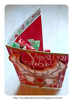 Navidad; ideas navideñas, scrapbook, cards