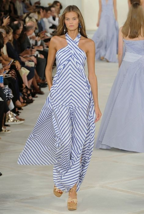 I need this real bad - seersucker inspired striped maxi dress  6b1c30885520