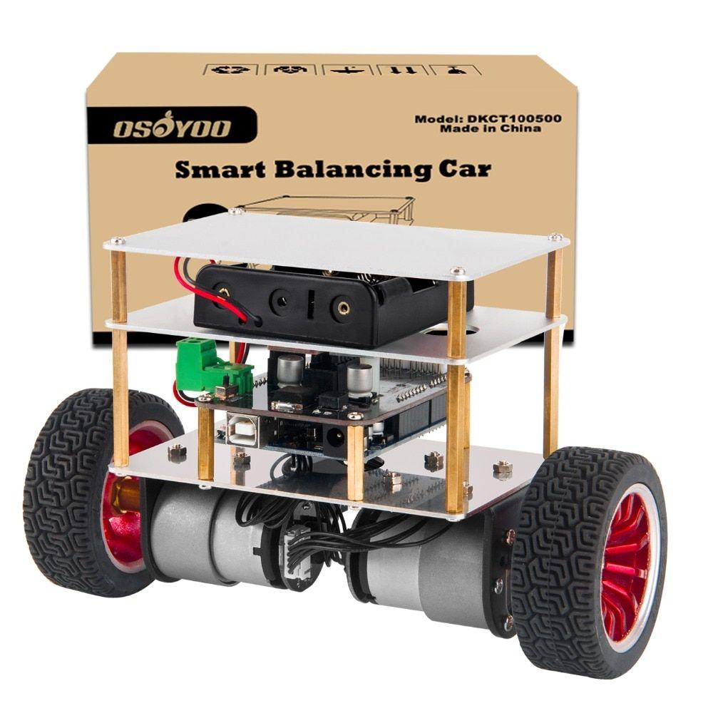 Osoyoo Rc Two Wheel Self Balancing Robot Car Kit For Osoyoo Diy Educational Starter Kit Bluetooth Remote Control By A Balancing Robot Arduino Bluetooth Remote